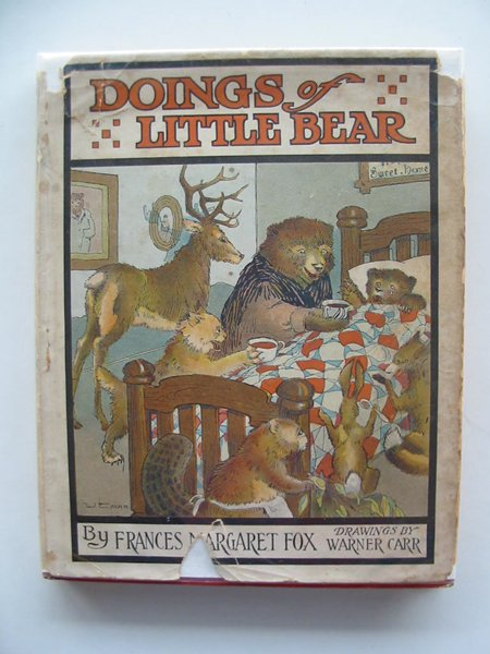 Photo of DOINGS OF LITTLE BEAR written by Fox, Frances Margaret illustrated by Carr, Warner published by Rand McNally & Co. (STOCK CODE: 657844)  for sale by Stella & Rose's Books