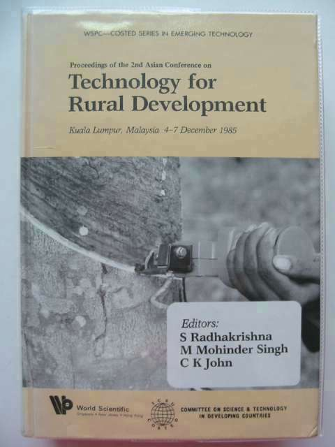 Photo of TECHNOLOGY FOR RURAL DEVELOPMENT written by Radhakrishna, S.<br />Singh, M. Mohinder<br />John, C.K. published by World Scientific (STOCK CODE: 658568)  for sale by Stella & Rose's Books