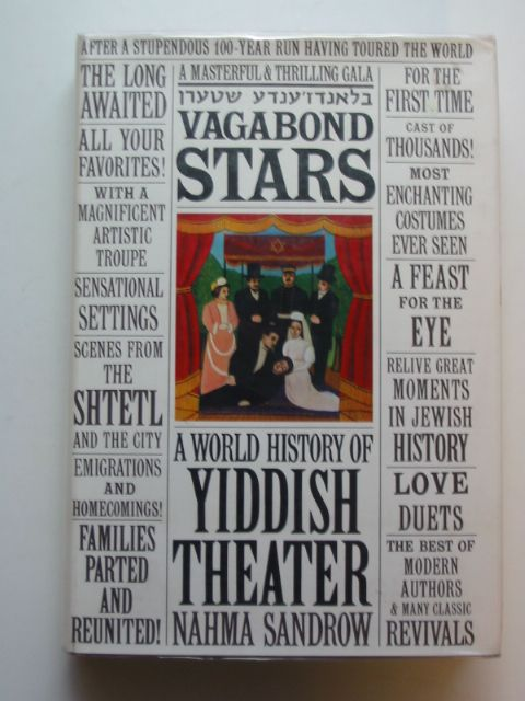 Photo of VAGABOND STARS written by Sandrow, Nahma published by Harper & Row (STOCK CODE: 659549)  for sale by Stella & Rose's Books