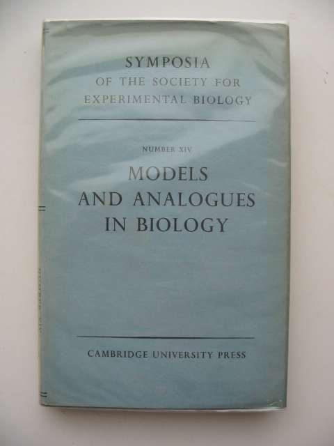 Photo of SYMPOSIA OF THE SOCIETY FOR EXPERIMENTAL BIOLOGY NUMBER XIV- Stock Number: 664352
