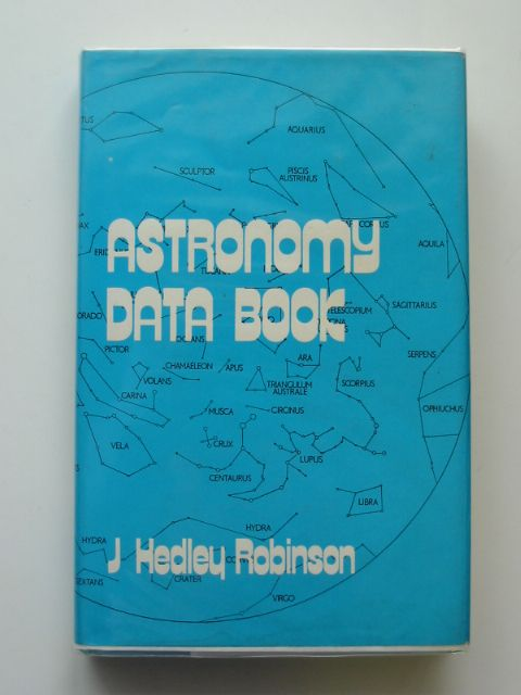 Photo of ASTRONOMY DATA BOOK- Stock Number: 666473