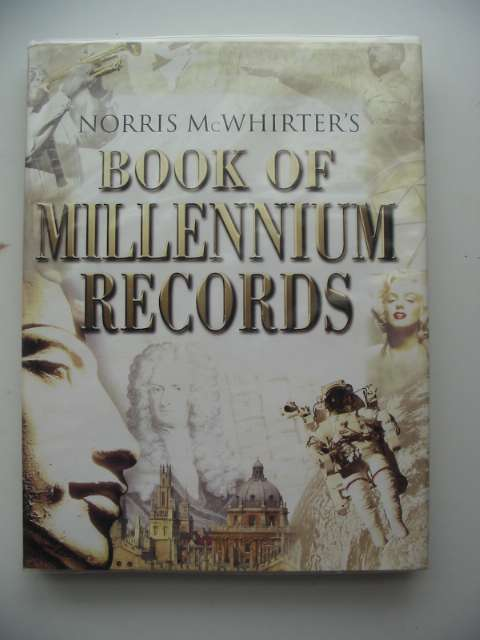 Photo of BOOK OF MILLENNIUM RECORDS written by McWhirter, Norris published by Virgin (STOCK CODE: 666673)  for sale by Stella & Rose's Books