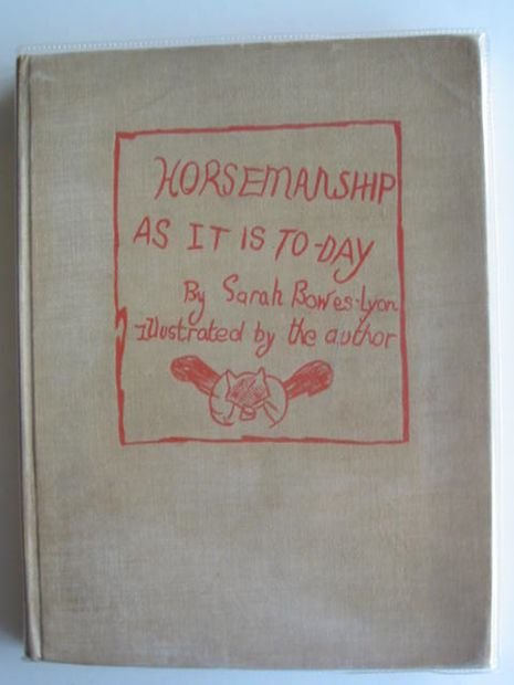 Photo of HORSEMANSHIP AS IT IS TO-DAY written by Bowes-Lyon, Sarah illustrated by Bowes-Lyon, Sarah published by J.M. Dent (STOCK CODE: 667213)  for sale by Stella & Rose's Books