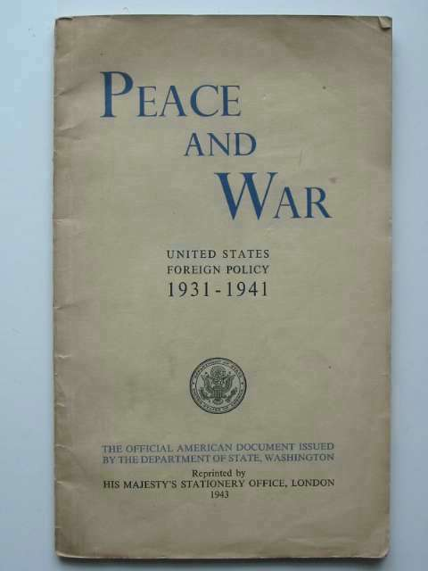 Photo of PEACE AND WAR- Stock Number: 670091