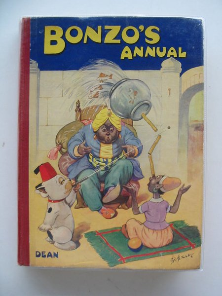 Photo of BONZO'S ANNUAL 1949 written by Studdy, G.E. illustrated by Studdy, G.E. published by Dean & Son Ltd. (STOCK CODE: 670897)  for sale by Stella & Rose's Books
