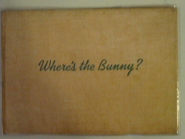 Photo of WHERE'S THE BUNNY? written by Carroll, Ruth illustrated by Carroll, Ruth published by Collins (STOCK CODE: 671721)  for sale by Stella & Rose's Books