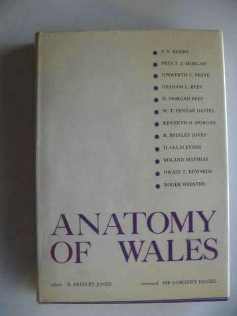Photo of ANATOMY OF WALES written by Jones, R. Brinley Emery, F.V. Morgan, Prys et al,  published by Gwerin Publications (STOCK CODE: 673790)  for sale by Stella & Rose's Books