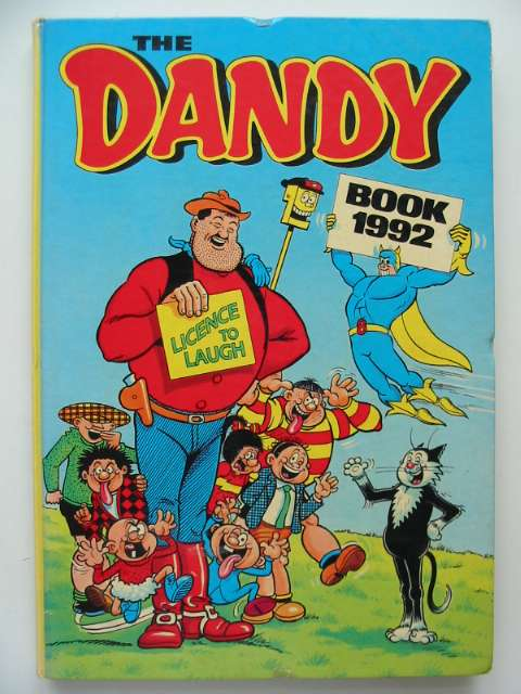 Photo of THE DANDY BOOK 1992- Stock Number: 674265