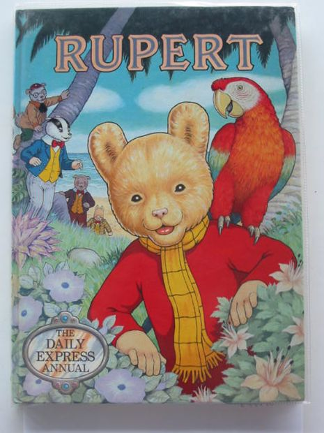 Photo of RUPERT ANNUAL 1987 written by Henderson, James illustrated by Harrold, John published by Daily Express (STOCK CODE: 674460)  for sale by Stella & Rose's Books