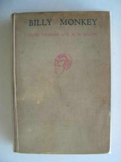 Photo of BILLY MONKEY written by Fyleman, Rose Wilson, E.M.D. illustrated by Leslie, Cecil published by Thomas Nelson and Sons Ltd. (STOCK CODE: 678357)  for sale by Stella & Rose's Books