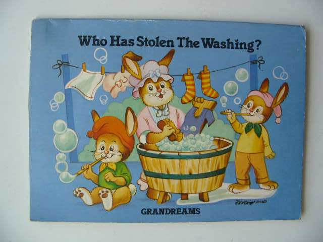 Photo of WHO HAS STOLEN THE WASHING?- Stock Number: 679045