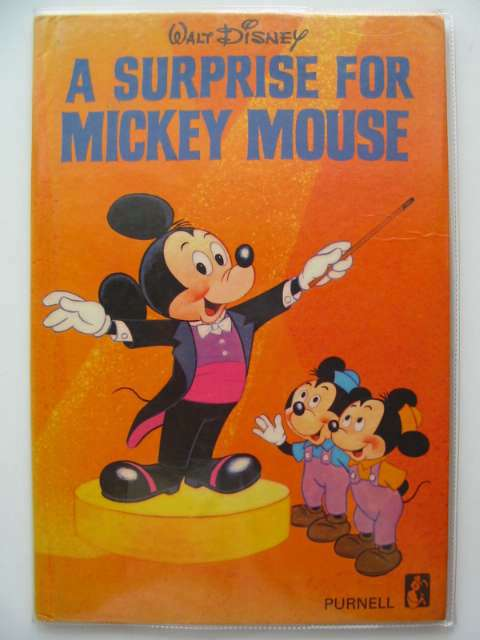 Photo of A SURPRISE FOR MICKEY MOUSE written by Disney, Walt illustrated by Disney, Walt published by Purnell (STOCK CODE: 679315)  for sale by Stella & Rose's Books