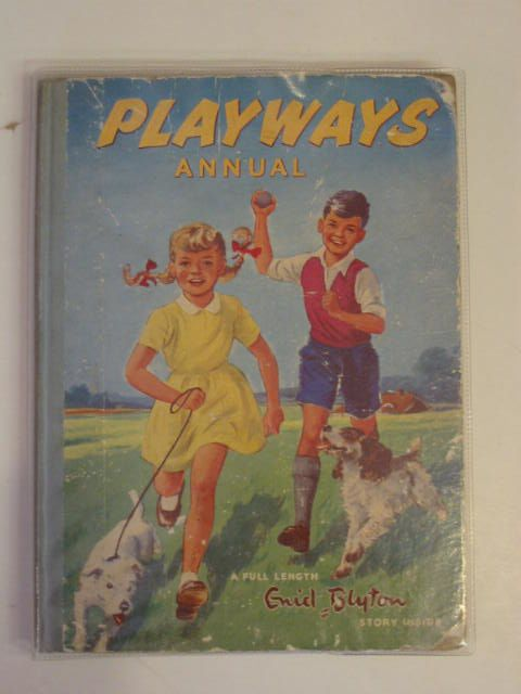 Photo of PLAYWAYS ANNUAL written by Blyton, Enid