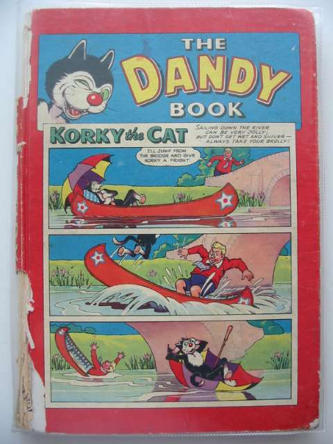 Photo of THE DANDY BOOK 1959 published by D.C. Thomson & Co Ltd. (STOCK CODE: 679703)  for sale by Stella & Rose's Books