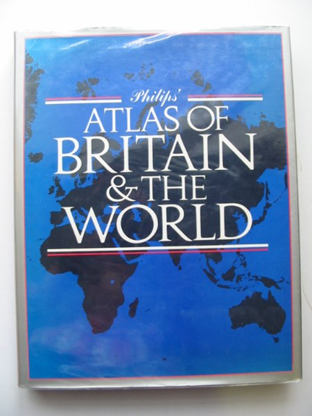 Photo of PHILIPS' ATLAS OF BRITAIN & THE WORLD- Stock Number: 680570