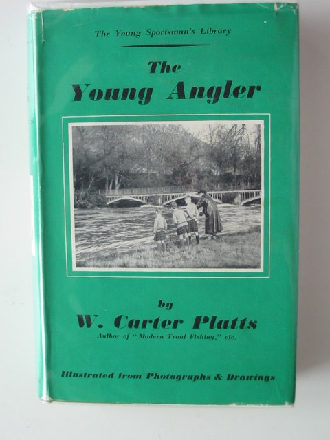 Photo of THE YOUNG ANGLER written by Platts, W. Carter published by Adam & Charles Black (STOCK CODE: 681233)  for sale by Stella & Rose's Books