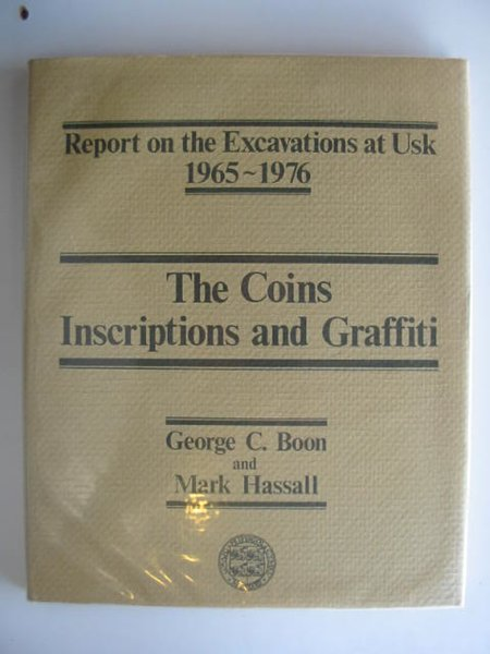 Photo of THE COINS INSCRIPTIONS AND GRAFFITI written by Boon, George C. Hassall, Mark published by University of Wales (STOCK CODE: 681944)  for sale by Stella & Rose's Books