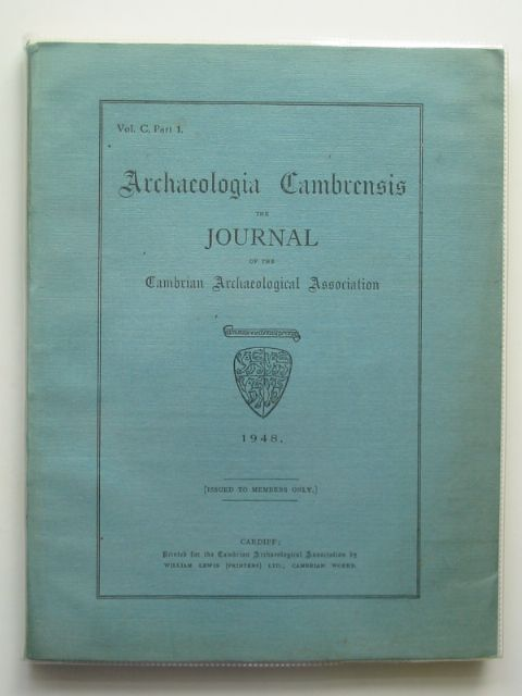 Photo of ARCHAEOLOGIA CAMBRENSIS VOL C PART 1 published by Cambrian Archaeological Association (STOCK CODE: 684366)  for sale by Stella & Rose's Books