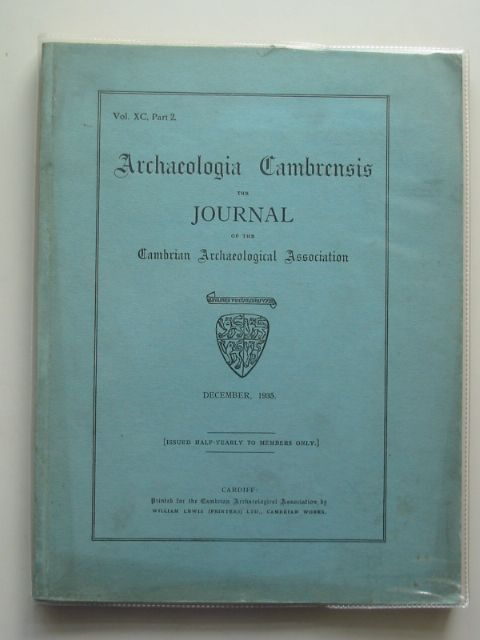 Photo of ARCHAEOLOGIA CAMBRENSIS VOL XC PART 2 published by Cambrian Archaeological Association (STOCK CODE: 684368)  for sale by Stella & Rose's Books