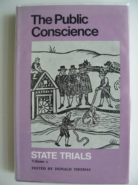 Photo of THE PUBLIC CONSCIENCE STATE TRIALS VOLUME 2- Stock Number: 685138