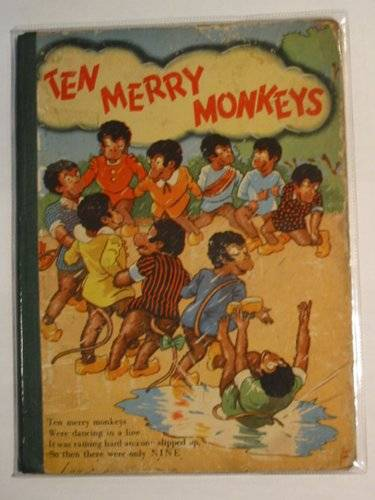 Photo of TEN MERRY MONKEYS published by Mulder & Zoon (STOCK CODE: 690910)  for sale by Stella & Rose's Books