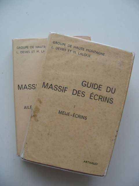 Photo of GUIDE DU MASSIF DES ECRINS (2 VOLS) written by Devies, Lucien<br />Laloue, Maurice published by B. Arthaud (STOCK CODE: 692737)  for sale by Stella & Rose's Books