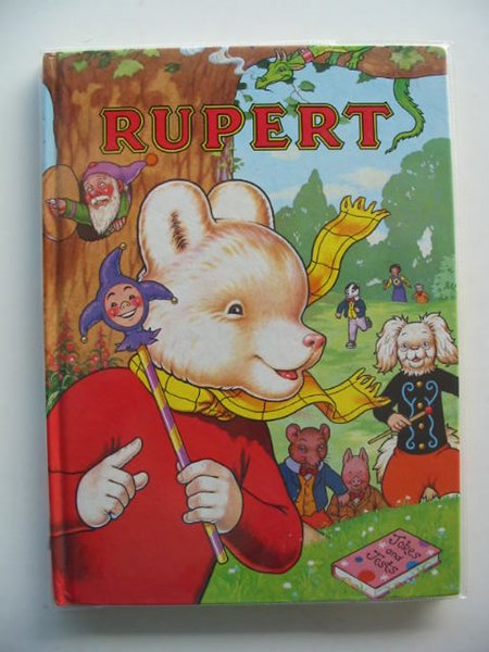 Photo of RUPERT ANNUAL 1993 written by Robinson, Ian illustrated by Harrold, John published by Pedigree Books Limited (STOCK CODE: 694981)  for sale by Stella & Rose's Books
