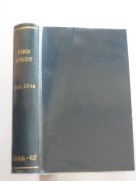 Photo of BIRD STUDY VOLS. 13-14 written by Snow, David W. published by British Trust for Ornithology (STOCK CODE: 696263)  for sale by Stella & Rose's Books