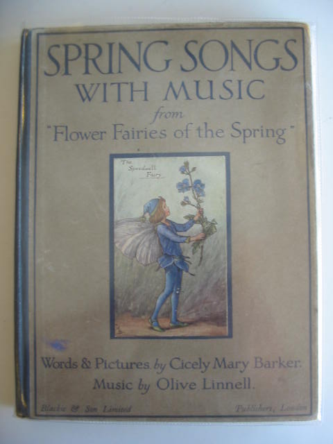 Photo of SPRING SONGS WITH MUSIC written by Barker, Cicely Mary Linnell, Olive illustrated by Barker, Cicely Mary published by Blackie & Son Ltd. (STOCK CODE: 696770)  for sale by Stella & Rose's Books