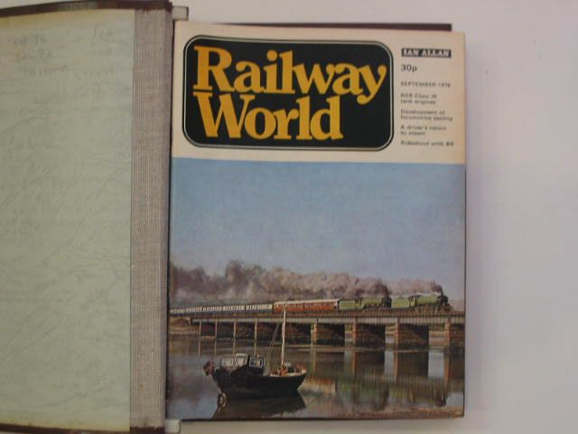 Photo of RAILWAY WORLD published by Ian Allan (STOCK CODE: 697909)  for sale by Stella & Rose's Books