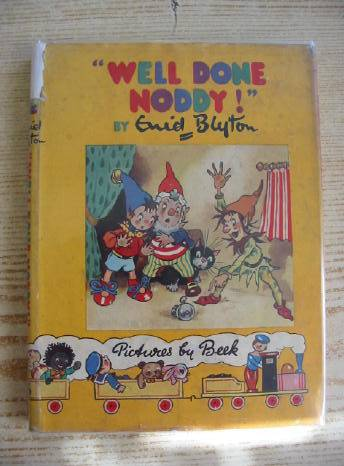 Photo of WELL DONE NODDY! written by Blyton, Enid illustrated by Beek,  published by Sampson Low, Marston & Co. Ltd., C.A. Publications Ltd. (STOCK CODE: 708250)  for sale by Stella & Rose's Books