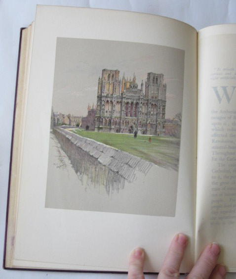Photo of CATHEDRALS AND ABBEY CHURCHES OF ENGLAND illustrated by Aldin, Cecil published by Eyre & Spottiswoode (STOCK CODE: 710387)  for sale by Stella & Rose's Books