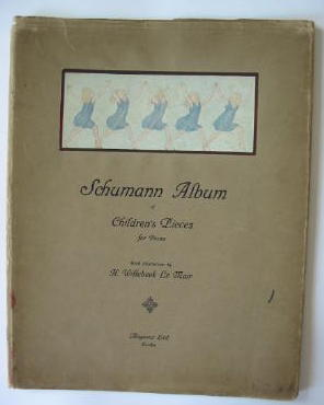 Photo of SCHUMANN ALBUM OF CHILDREN'S PIECES FOR PIANO- Stock Number: 711825