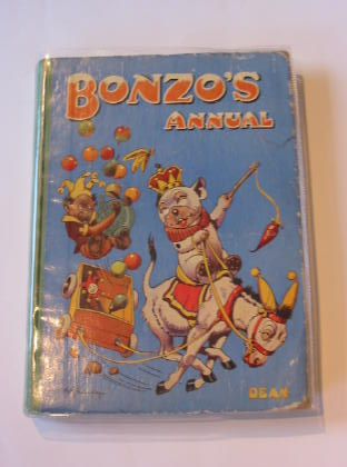 Photo of BONZO'S ANNUAL 1948 written by Studdy, G.E. illustrated by Studdy, G.E. published by Dean & Son Ltd. (STOCK CODE: 713720)  for sale by Stella & Rose's Books