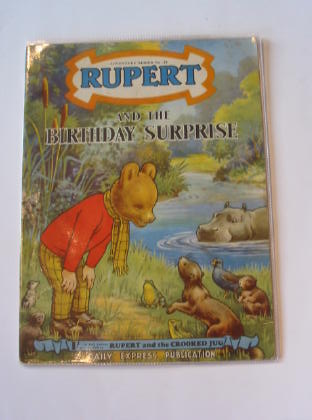 Photo of RUPERT ADVENTURE SERIES No. 24 - RUPERT AND THE BIRTHDAY SURPRISE written by Bestall, Alfred published by Daily Express (STOCK CODE: 721373)  for sale by Stella & Rose's Books