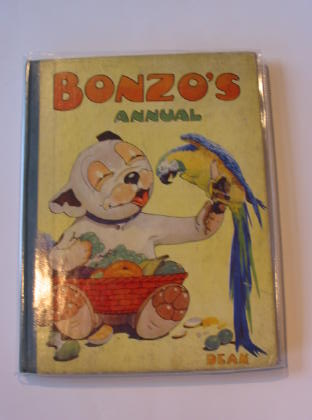 Photo of BONZO'S ANNUAL 1950 written by Bradley, Christine E. illustrated by Studdy, G.E. published by Dean & Son Ltd. (STOCK CODE: 722661)  for sale by Stella & Rose's Books