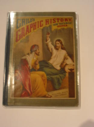 Photo of CHILD'S GRAPHIC HISTORY - NEW TESTAMENT SCENES- Stock Number: 722865