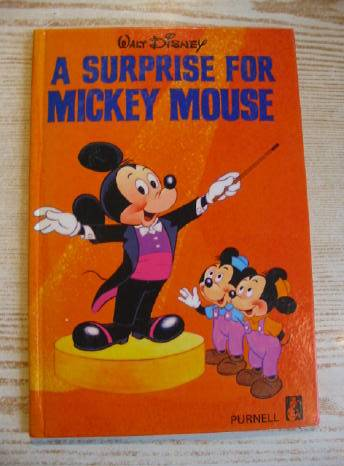 Photo of A SURPRISE FOR MICKEY MOUSE written by Disney, Walt published by Purnell & Sons, Ltd. (STOCK CODE: 723293)  for sale by Stella & Rose's Books