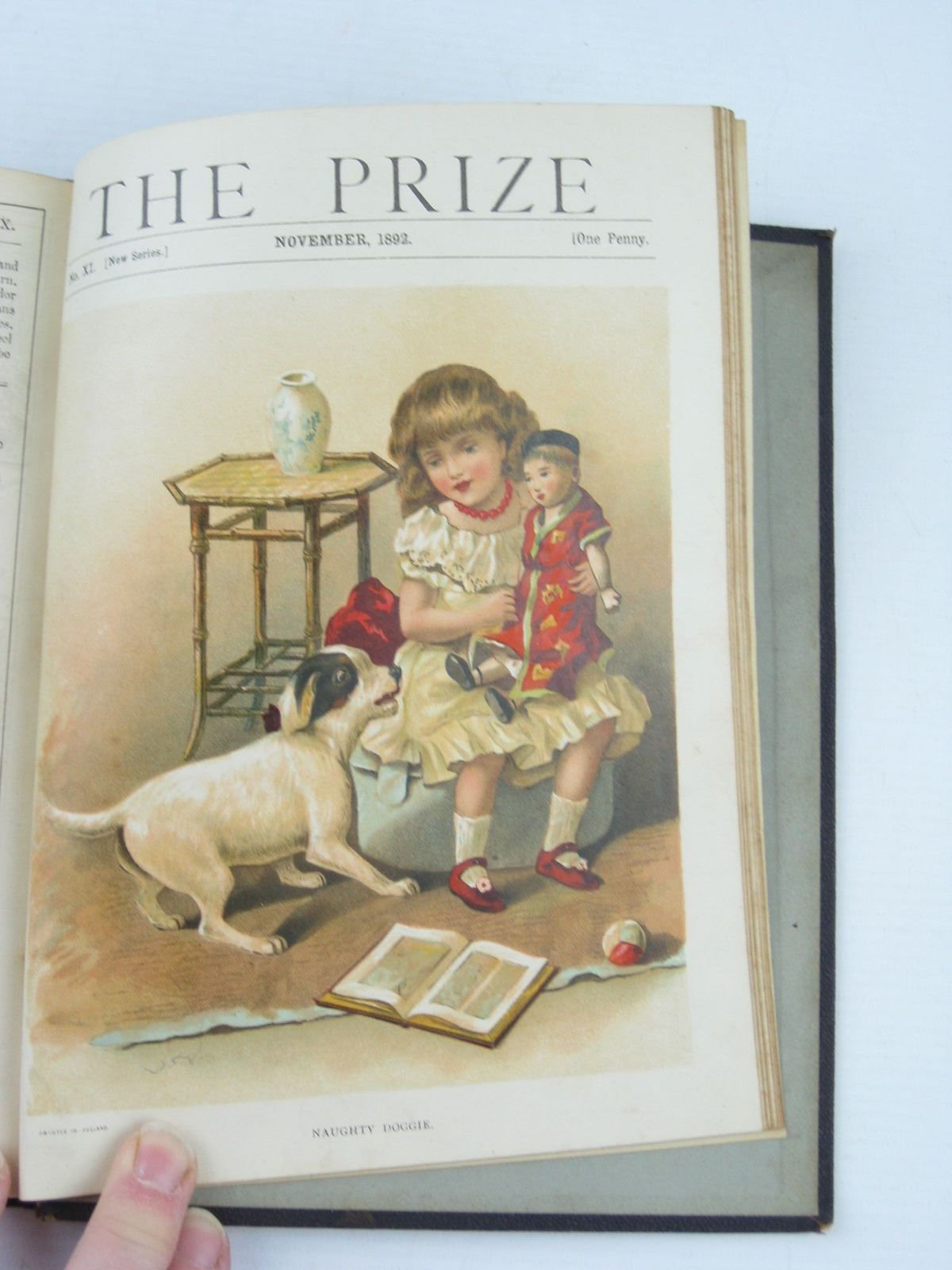 Photo of THE PRIZE FOR GIRLS AND BOYS 1892 published by Wells Gardner, Darton & Co. (STOCK CODE: 727483)  for sale by Stella & Rose's Books