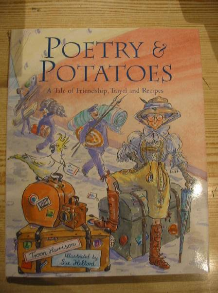 Photo of POETRY & POTATOES written by Harrison, Troon illustrated by Hellard, Sue published by Pavilion Children'S Books (STOCK CODE: 727889)  for sale by Stella & Rose's Books