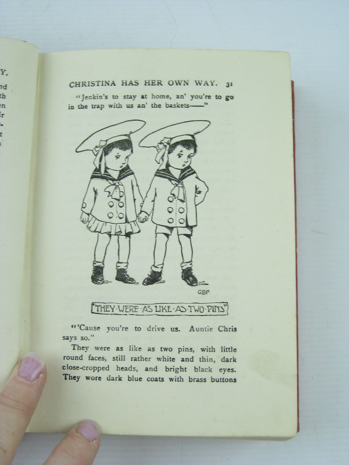 Photo of THE CONQUEST OF CHRISTINA written by Oxenham, Elsie J. published by The Children's Press (STOCK CODE: 730310)  for sale by Stella & Rose's Books