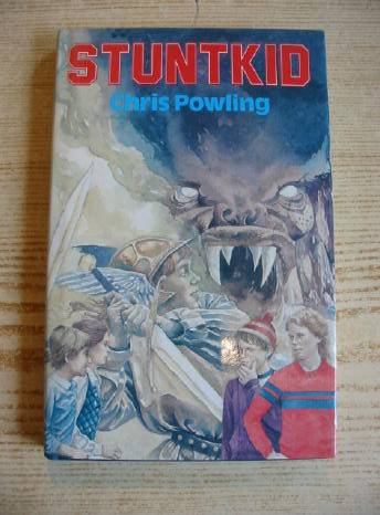 Photo of STUNTKID written by Powling, Chris illustrated by Lavis, Stephen published by Blackie (STOCK CODE: 732029)  for sale by Stella & Rose's Books