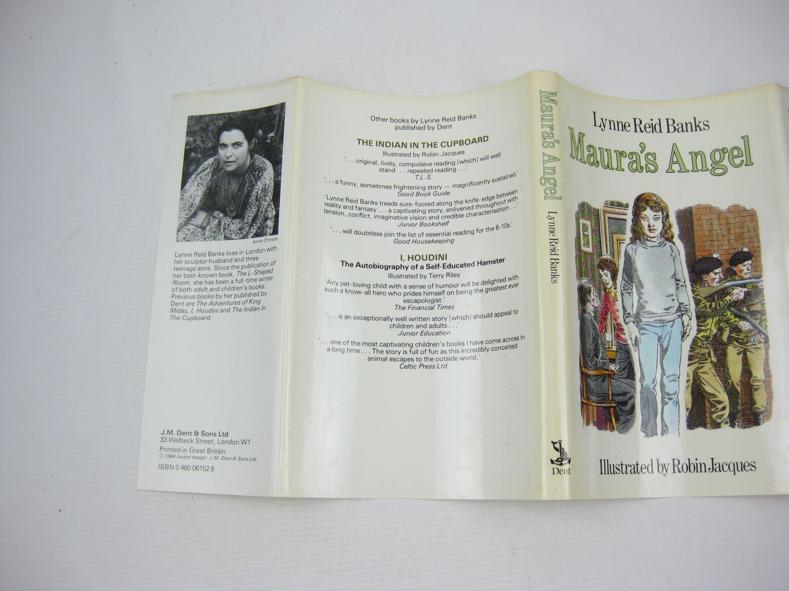 Photo of MAURA'S ANGEL written by Banks, Lynne Reid illustrated by Jacques, Robin published by J.M. Dent & Sons Ltd. (STOCK CODE: 732200)  for sale by Stella & Rose's Books