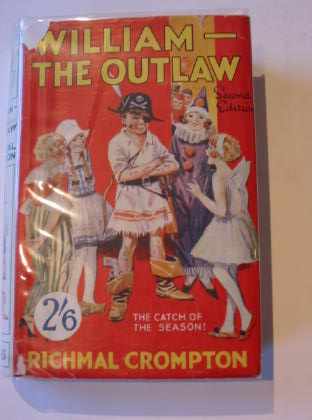 Photo of WILLIAM THE OUTLAW written by Crompton, Richmal illustrated by Henry, Thomas published by George Newnes Limited (STOCK CODE: 732898)  for sale by Stella & Rose's Books