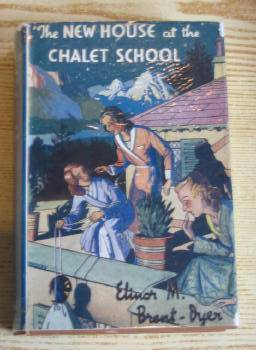 Photo of THE NEW HOUSE AT THE CHALET SCHOOL written by Brent-Dyer, Elinor M. published by W. & R. Chambers Limited (STOCK CODE: 733062)  for sale by Stella & Rose's Books
