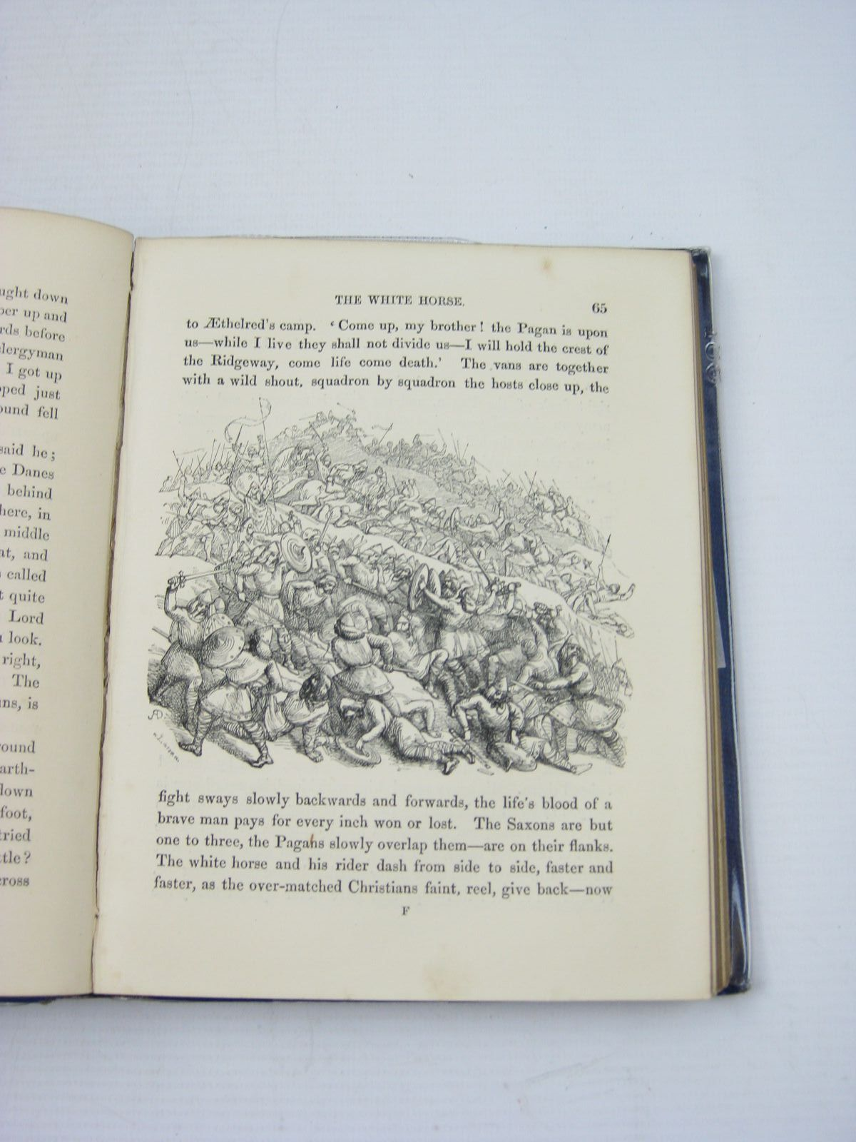 Photo of THE SCOURING OF THE WHITE HORSE written by Hughes, Thomas illustrated by Doyle, Richard published by Macmillan & Co. (STOCK CODE: 733176)  for sale by Stella & Rose's Books