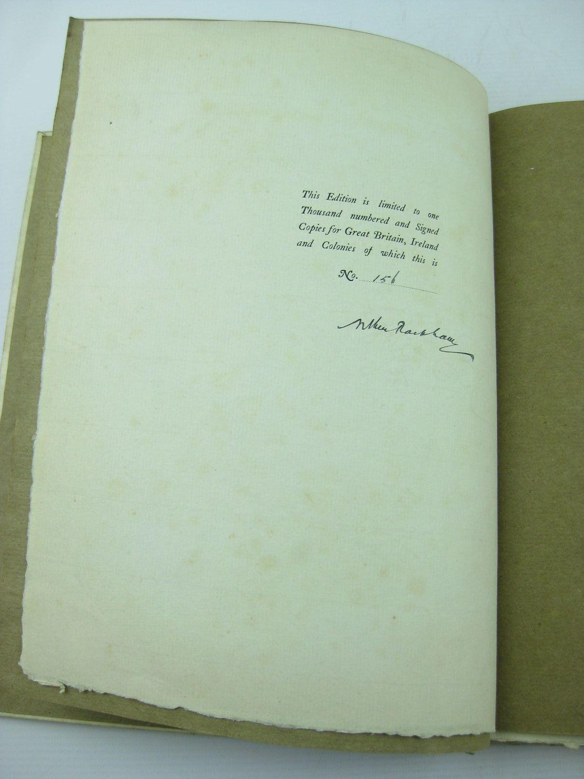 Photo of UNDINE written by De La Motte Fouque, Friedrich illustrated by Rackham, Arthur published by William Heinemann (STOCK CODE: 733868)  for sale by Stella & Rose's Books