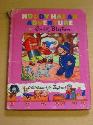 Photo of NODDY HAS AN ADVENTURE written by Blyton, Enid illustrated by Wienk, Peter Tyndall, Robert published by Sampson Low, Marston & Co. Ltd., Dennis Dobson (STOCK CODE: 733915)  for sale by Stella & Rose's Books