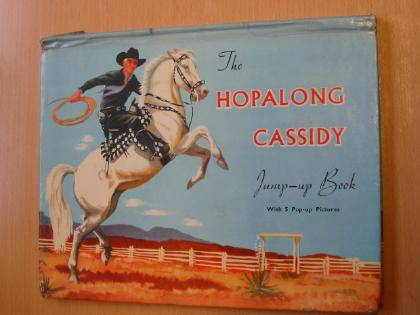 Photo of THE HOPALONG CASSIDY JUMP-UP BOOK written by Roberts, Jim published by Adprint Limited (STOCK CODE: 734006)  for sale by Stella & Rose's Books
