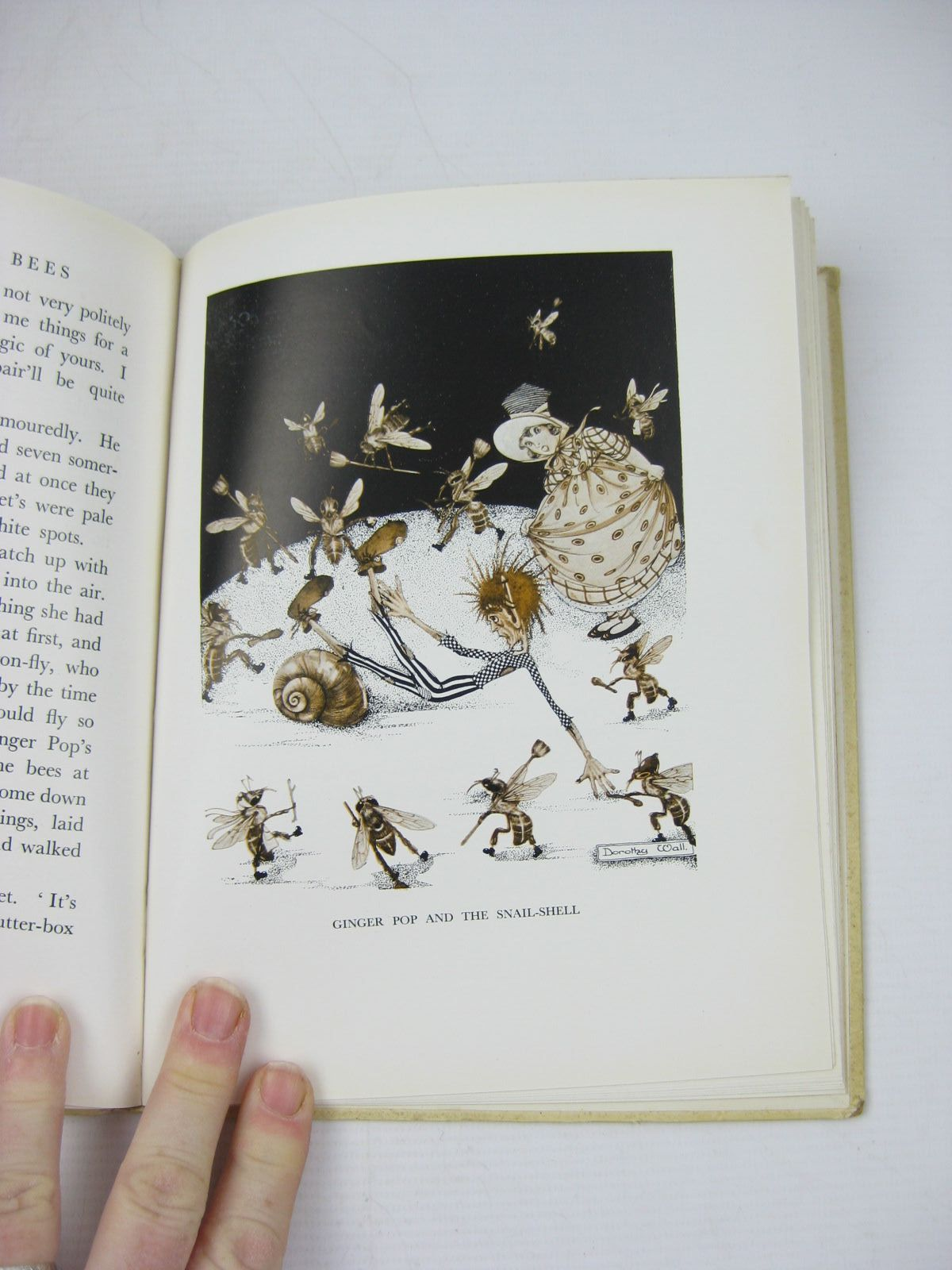 Photo of THE TALE OF BRIDGET AND THE BEES written by Wall, Dorothy illustrated by Wall, Dorothy published by Methuen & Co. Ltd. (STOCK CODE: 734032)  for sale by Stella & Rose's Books